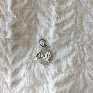 Pink promise keychain pendant NWOT
